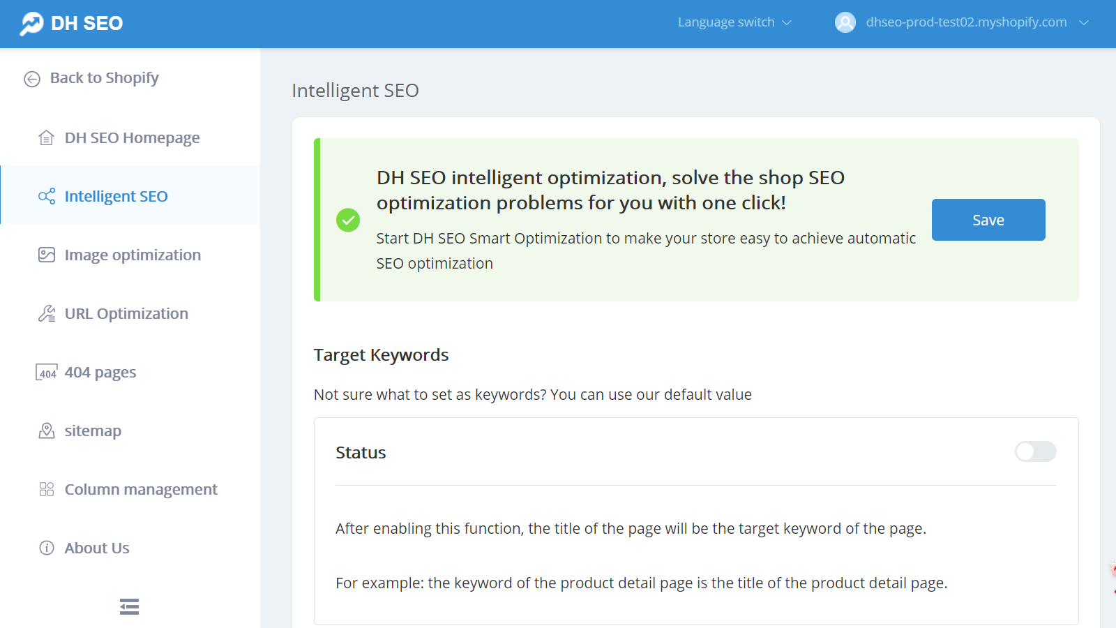 automatically generate title tag and meta description