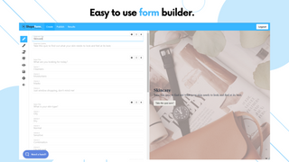 Shopaform Easy to Use Quiz Builder - Product Recommendation Quiz
