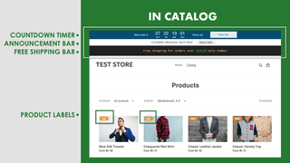 Sales Booster on Catalog Pages
