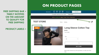 Sales Booster on Product Pages