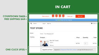 Sales Booster in Cart