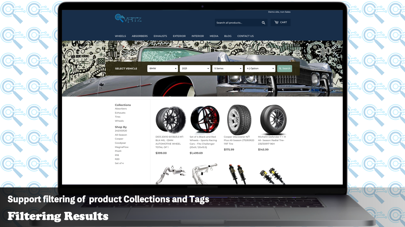 Matching results Support product Collections Tags