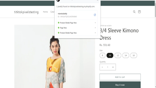 Product Details Page View