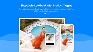 Shoppable Lookbook app for Shopify