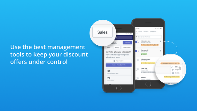 Best management tools for your product discount offers