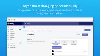 Bulk price editor. Forget about changing sale prices manually!