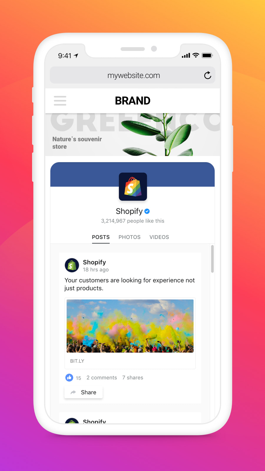 Experience smooth work of Facebook app on any device