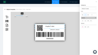 Faster label barcode printing