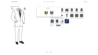 Tailor Suit styles options