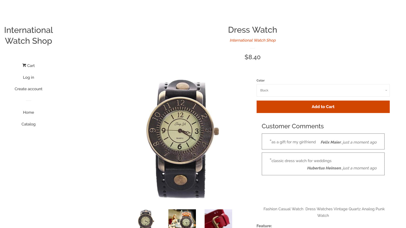 Show checkout comments on your product pages to convert visitors