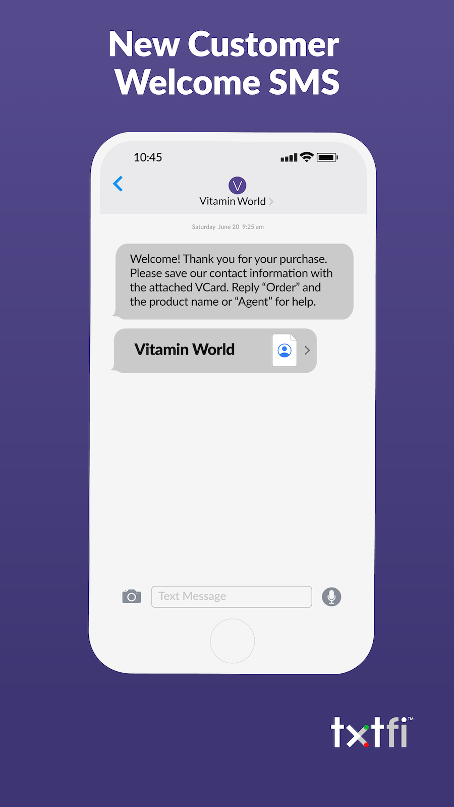 shopify order text message and sms