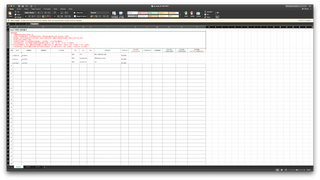 final output excel