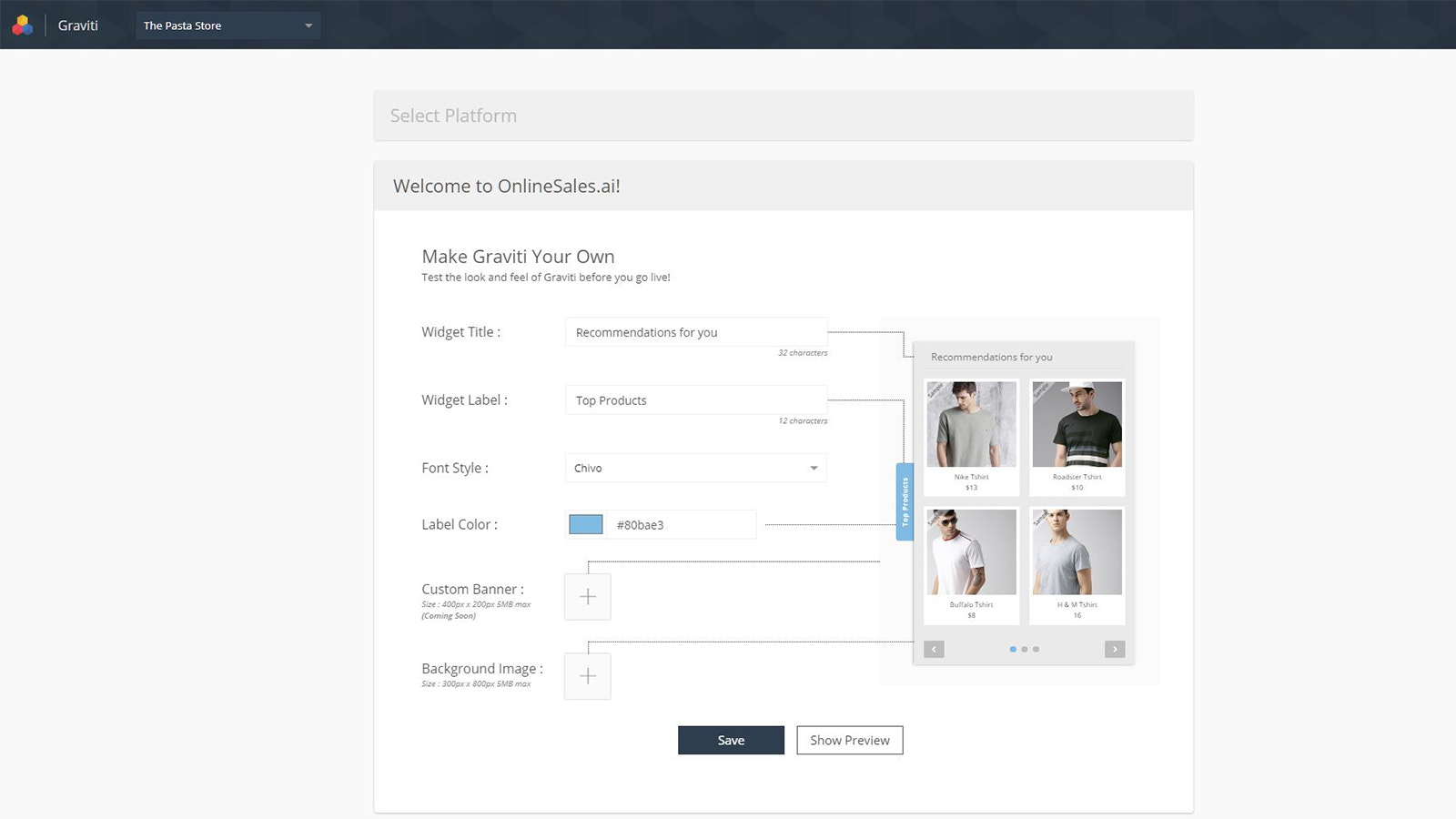 Smart-Product-Recommender-Customize-Look