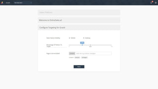 Smart-Product-Recommender-Configure-Targeting