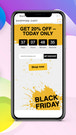 Yellow PopUp Mobile