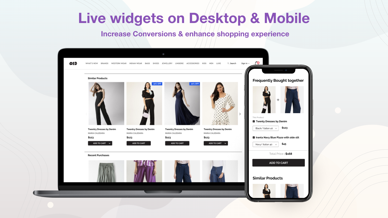 Unlimited Upsell Personalized Recommendations on Any Page