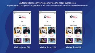 Auto Multi Currency Converter multi currency currency switcher