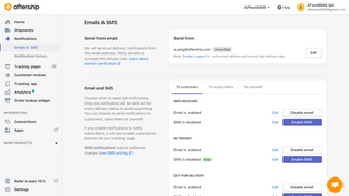 Send proactive email, SMS, and Facebook messenger updates