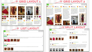 reviewmate 4 layouts