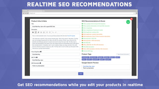 Realtime SEO Recommendations