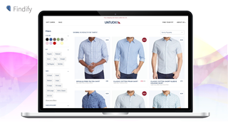 Search & Personalization: Search filtering for UntuckIt