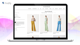 Search & Personalization: Search filtering for Victoria Beckham