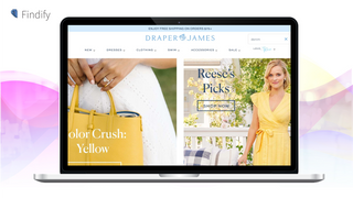 Search & Personalization: Findify operating on Draper James