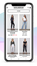 Search & Personalization: Search on mobile for Good American
