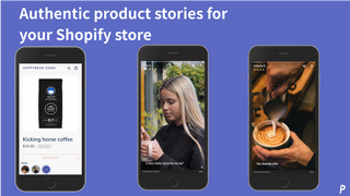 Show approved stories in your store