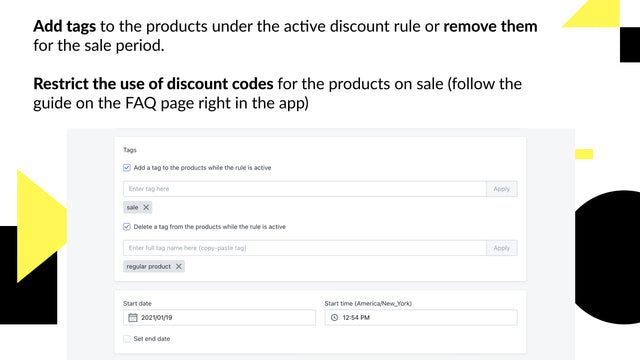 discount manager app