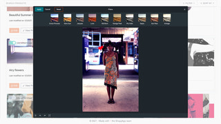 Easily change color or add filter to images