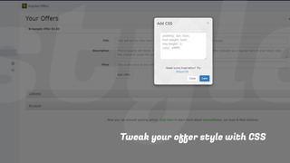 Customize their style directly with CSS.