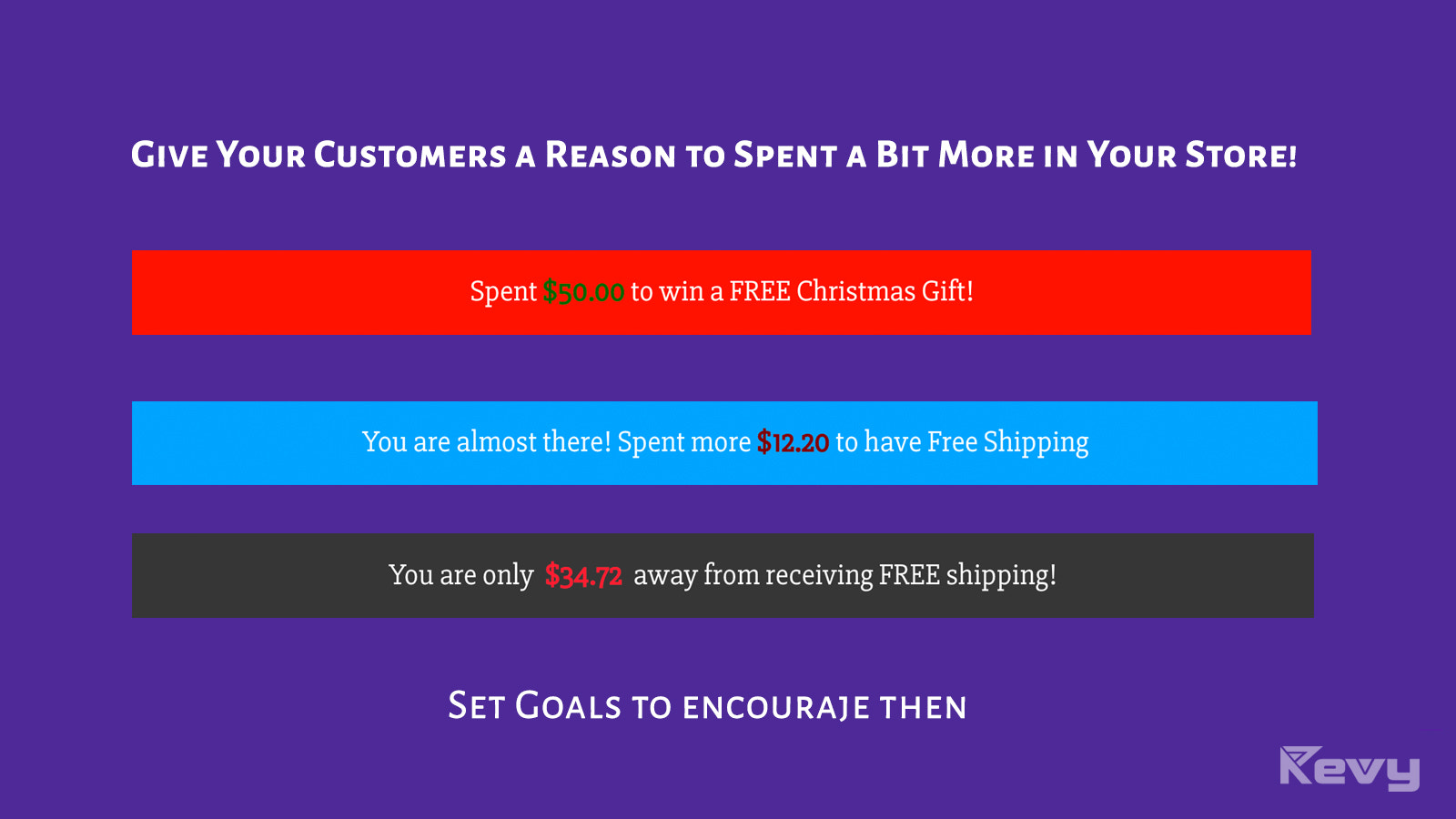 All your bold customers need is a reason to spent more.