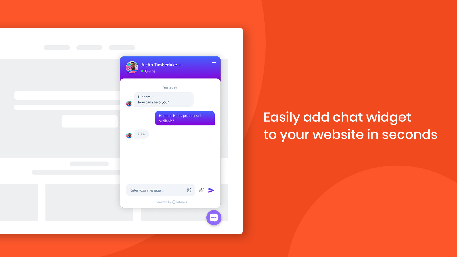 manage all chats