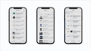 Native iOS app, easy to use & with product images