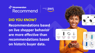 HiConversion Recommend powered by Amazon Personalize