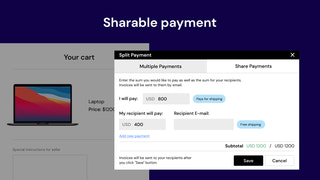 shopify installment payments