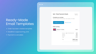 shopify multiple payments