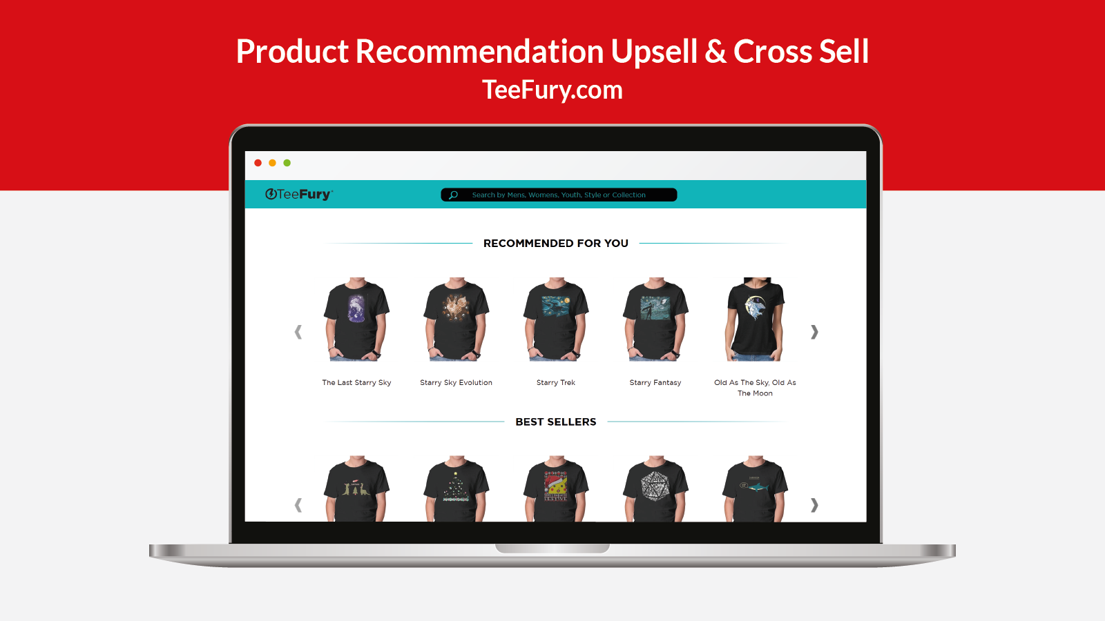 Search - Product Recommendation Upsell & Cross Sell