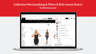 Collection Merchandising & Filters & Rich Instant Search