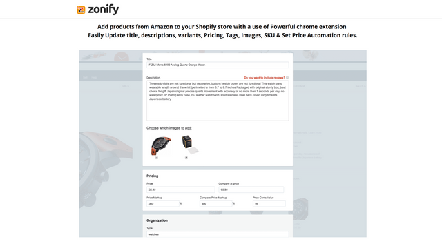 Zonify Features