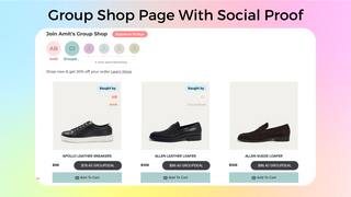 Group Shop Page