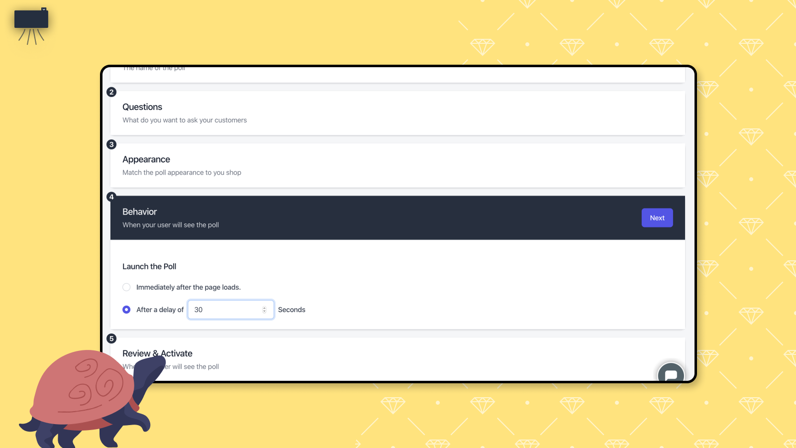 Customize popup behavior and triggers