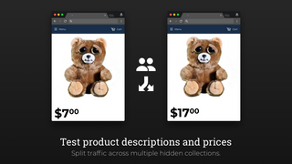 Test product descriptions and prices