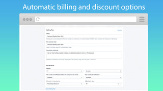 Automatic billing and discounting