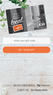 Nift gift cards can be used via our website or mobile app.