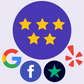 Trustpilot,FB & Google Reviews
