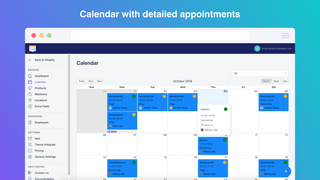 Calendar in backend