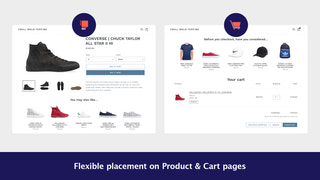 Cross sell and upsell related products on Shopify product pages