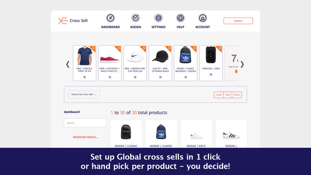 Upsell with recommended products on your cart page in Shopify